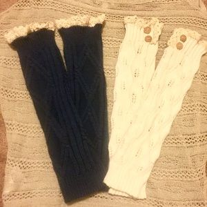 Accessories - 2 pair of boutique boot socks